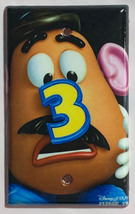Toy Story Potato Head Light Switch Power Outlet Wall Cover Plate Home decor image 4