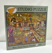 """The Pet Emporium Bits & Pieces Puzzle - 500 Pieces 16"""" x 20"""" New Sealed - $14.01"""