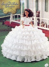 Southern Belle Summer Picnic Outfit fits Barbie Crochet Pattern Leaflet ... - $8.97
