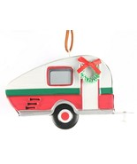 "Wondershop Target 5"" Tin Camping Trailer With Wreath Christmas Ornament ... - $5.00"