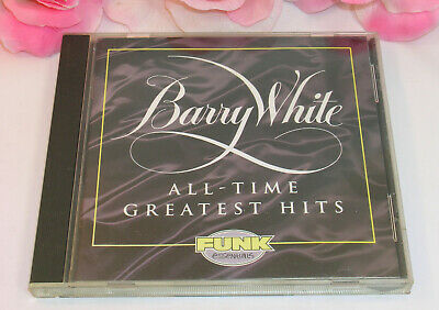 Primary image for Barry White 20 Tracks All Time Greatest Hits Gently Used CD Mercury Records 1994