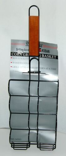 BBQer Choice 14503 Grilling Accessories by Kodar Corn Grilling Basket
