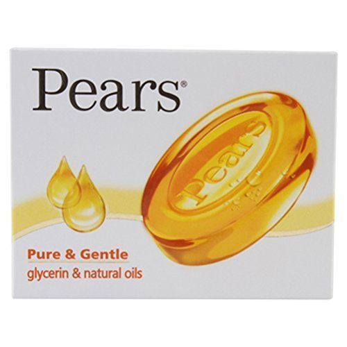 75gm Pears soap Pure & Gentle glycerin & natural oils For younger looking skin