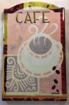 Wall Tile Coffee Design with Cork on Back. - $7.95
