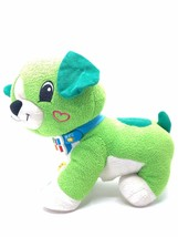 Leap Frog Read With Me Scout Plush Interactive Toy Talking Green Dog - $27.72