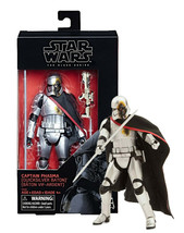 "Star Wars Black Series Captain Phasma Quicksilver Baton 6"" Figure Mint i... - $19.88"