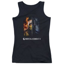 Mortal Kombat - Fire And Ice Juniors Tank Top Officially Licensed Apparel - $19.99+