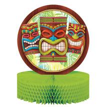 "Tiki Time 12"" x 9"" Honeycomb Centerpiece, Case of 12 - $61.76"