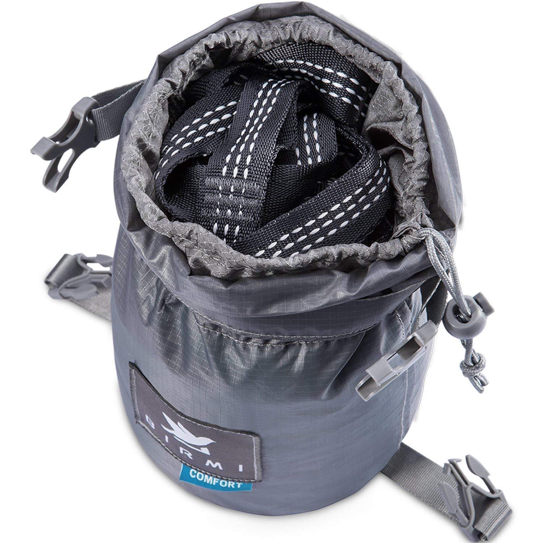 Birmi Portable Double Hammock with Straps - Waterproof Sack 500lb Brand New