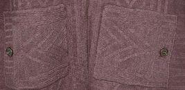 Simply Noelle Brand JCKT222Z Womens Mauve Zippered Sweater Jacket Size XXL image 5