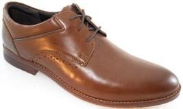 Rockport CG7333 Men's Brown Shadow Plain Toe Oxford Sz 10 Wide(W) - $71.09