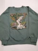 Vintage North American Wildlife Conservancy Van Heusen Players Sweatshir... - $15.14