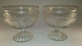 Pioneer Woman Adeline Clear Set of 2 Glass Bowls Glassware 10 ounce Sundae Cups - $11.02