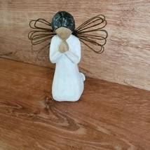 Angel of Prayer Figurine Willow Tree Angel Demdaco Susan Lordi 2000 Pray... - $17.81
