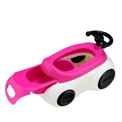 Potty Chair 1.5-Liter Capacity Toy Car Drawer Non-Skid Steering Training Seat