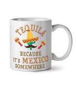 Tequila Mexico Cactus NEW White Tea Coffee Mug 11 oz | Wellcoda - $15.99