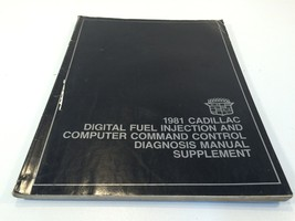 1981 Cadillac Digital Fuel Injection And Computer Command Control Manual... - $19.99
