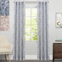"Toile Lace Grommet Floral Window Curtain Single Panel 84""x54"" - $27.49"