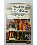 McClane's Secrets of Successful Fishing Illustrated Guide Techniques Tackle - $5.00