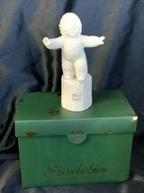 2004 Dept 56 Snowbabies BLIND FAITH Porcelain #56. 69441 Figurine - $19.00