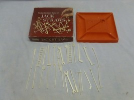 Vtg Old Retro Parker Brothers Game Jack Straws Pick Up Sticks 60s - $12.99