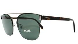 NEW Authentic PRADA Havana Brown Green Sunglasses SPR67T VIX-3O1 63-16 145 P18 - $120.93