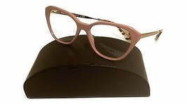 Prada Women's Pink Gold Glasses with case VPR 28S K4A-1O1 54mm - $185.99