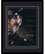 2008 United States US Marines 11x14 Framed ORIGINAL Vintage Advertisement  - $32.36
