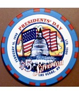 $5 Casino Chip, Silverton, Las Vegas, NV. President's Day 1998, LTD 1000. W16. - $6.99