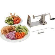 Maxam Stainless Steel and Chrome-Plated Vegetable Spiral Slicer In Box - $32.95