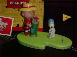 Hallmark Peanuts Gallery SCRATCH GOLFER Figurine Mint With Box - $49.49