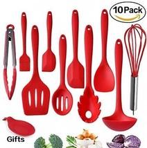Kitchen Utensils, Silicone Heat-Resistant Non-Stick Kitchen Utensil Set... - $59.54