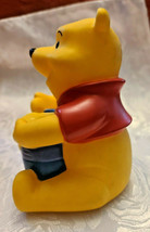 "4"" Disney Winnie the Pooh Squeak Toy with Honey Pot image 2"