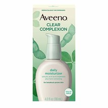 Aveeno Clear Complexion Salicylic Acid Acne-Fighting Daily Face Moisturi... - $14.72