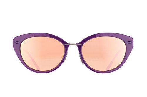 NEW Genuine Ray Ban RB4250 60342Y 52 Shiny Violet Womens Sunglasses Glasses