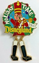 NEW Holiday Time Disneyland 2011 Nutcracker w Moving Parts Authentic Trading Pin - $18.80