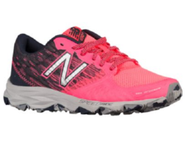 NEW BALANCE T690v2 WOMEN'S PINK/BLACK/GREY TRAIL RUNNING SHOES #WT690LG2 - $53.12