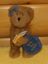 "Boyds Beary Best Assistant Plush 8"" Bear Holds Office Faux Folders -Perf... - $8.79"