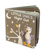 Mary Meyer Leika Baby Board Book, 6 x 6-Inches, Little Owl - $12.95