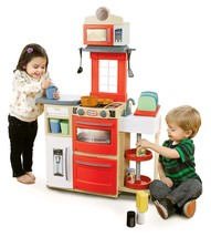 Little Tikes Cook 'N Store Kitchen Red Playset Standard Packaging - $99.85