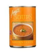 Amy's Organic Golden Lentil Soup 14.4 oz ( Pack of 2 ) - $14.89