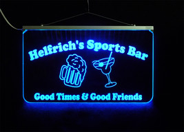 """17.25""""x10"""" Personalized Bar Sign, Man Cave Sign Wedding Sign MultiColor ... - $142.00"""