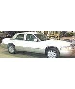 For Ford Crown Victoria 1998-2002 Grand Marquis Polished Fender Trim Mol... - $91.99