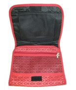 Red Fish Pattern COVER for Books And Organizer W/ Cross Pull Tabs - $15.69