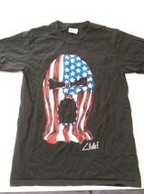 Wrestling Mask Patriotic Men's T-Shirt Size Small Graphic Short Sleeve B... - $0.98