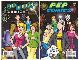 Archie Blue Ribbon Comics #666 Cover B & Pep Comics #666 Cover D - $14.95