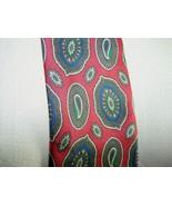 VTG CHRISTIAN DIOR Monsieur Paisley Multi-Color 100% Silk  Mens Neck Tie - $29.69