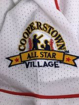 Cooperstown All Star Village Youth XL MLB White Jersey Red Sox Green Monster #5 image 5