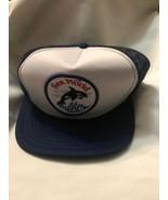 Vintage Sea World Hat Snapback Trucker Cap Patch Mesh - $7.69
