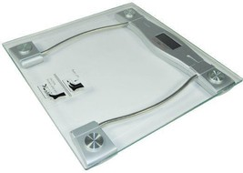 Weight Scale Personal Glass Top Digiweigh 330 Lb Battery Operated Bathroom NIB - $18.99
